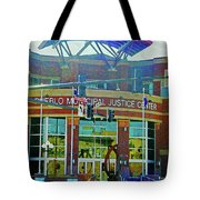 Pueblo Municipal Justice Center Tote Bag