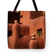 Pueblo Revival Style Architecture II Tote Bag