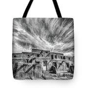 Pueblo Storm Clouds Tote Bag