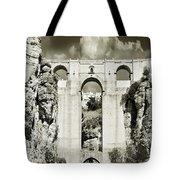 Puente Nuevo Tajo De Ronda Andalucia Spain Europe Tote Bag