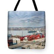Puerto De Valparaiso Tote Bag