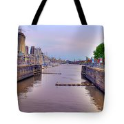 Puerto Madero Canal Tote Bag