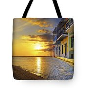 Puerto Rico Montage 1 Tote Bag by Stephen Anderson
