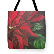 Puff Of Red Tote Bag