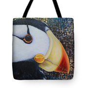Puffin Glam Tote Bag