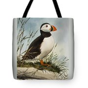 Puffin Tote Bag