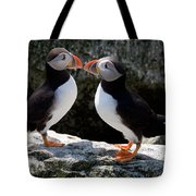 Puffin Love Tote Bag