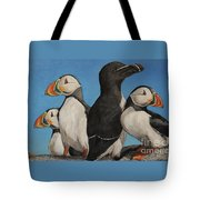 Puffin Palooza 2 Tote Bag