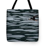 Puffin With Dinner Tote Bag