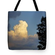 Puffy Cloud Tote Bag