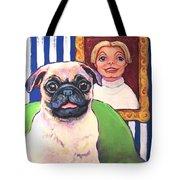 Pug - Beth Ann And Butch Tote Bag