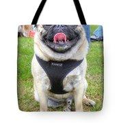 Pug Portrait Tote Bag