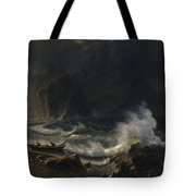 Puget  Sound  On  The  Pacific  Coast, Tote Bag