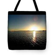 Puget Sound Sunset 3 Tote Bag