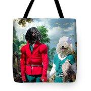 Puli Art Canvas Print - Birds And Falconers Paradise Tote Bag