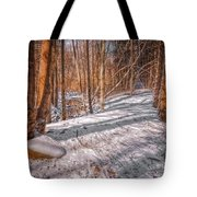 Pulled Into The Woods Tote Bag