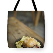 Pulled Pork Bun With Fries Tote Bag