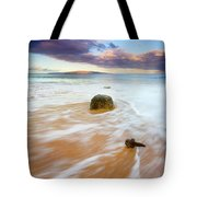 Pulled To The Sea Tote Bag by Mike  Dawson