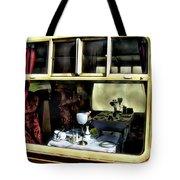Pullman Dining Car Tote Bag