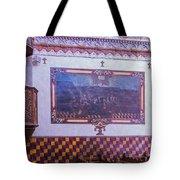 Pulpit San Xavier Mission - Tucson Arizona Tote Bag