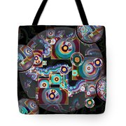 Pulse Of The Motherboard Tote Bag