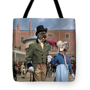 Pumi Art Canvas Print - Settling Day At Tattersalls Tote Bag