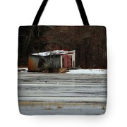 Pump House On The Cranberry Bog Tote Bag