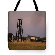 Pump Jack Golden Hour Tote Bag