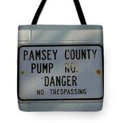 Pump Station No. 00 Tote Bag