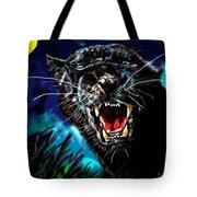 Pumpernickel Puma Tote Bag