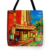Pumperniks And The Snowdon Theatre Tote Bag