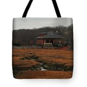 Pumping Station On The Marsh Tote Bag