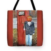 Pumpkin Farmer Tote Bag