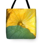 Pumpkin Flower Tote Bag