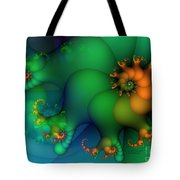 Pumpkin Garden Tote Bag