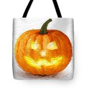 Pumpkin Glow Tote Bag
