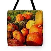 Pumpkin Meeting Tote Bag