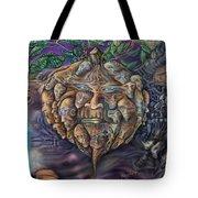 Pumpkin Morph Cycle Tote Bag