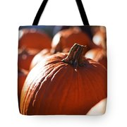 Pumpkin Patch Farm Tote Bag