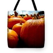 Pumpkin Patch Piles Tote Bag