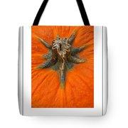 Pumpkin Stem Poster Tote Bag