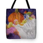 Pumpkin Still Life Tote Bag