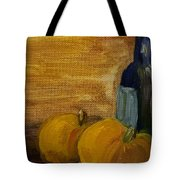 Pumpkins And Wine  Tote Bag by Steve Jorde