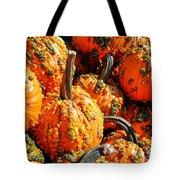 Pumpkins With Warts Tote Bag