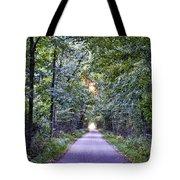 Pumpkinvine Trail In Fall Tote Bag