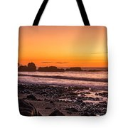 Punakiaki Sunset Tote Bag