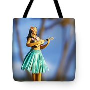 Punaluu, Hula Doll Tote Bag