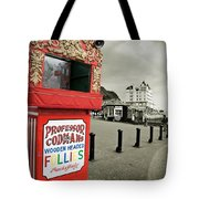 Punch And Judy Theatre On Llandudno Promenade Tote Bag