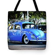 Punch Buggie Blue Tote Bag