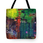 Punctuated Silences Tote Bag